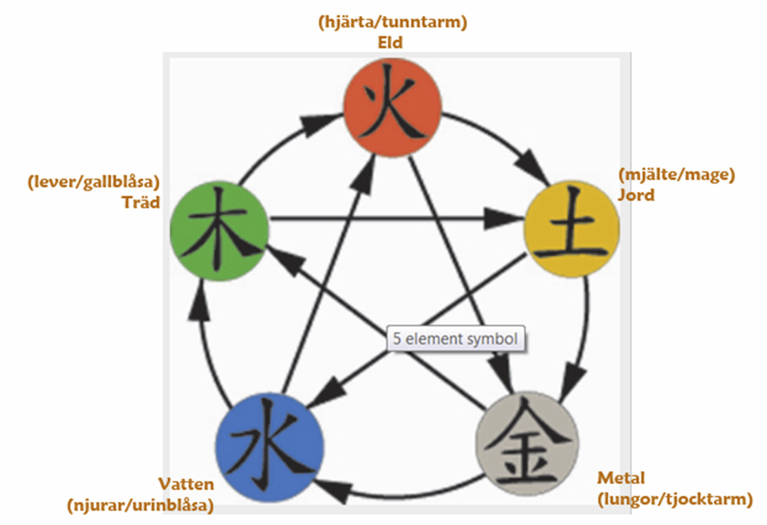 de fem elementen
